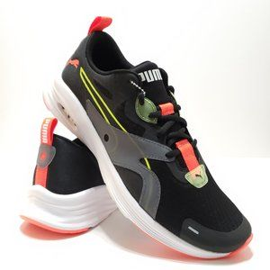 Puma Hybrid Fuego Black Running Shoes Sneakers
